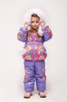 Детские зимние костюмы для девочек 80