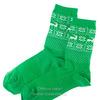 Н603 Носки женские (зеленый)