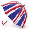 Прозрачный зонт-трость детский Fulton Union Jack