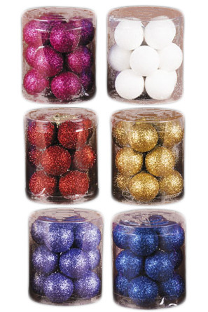 """Набор """"Разноцветные искорки"""" из 12 шариков,  3см , Набор сиреневый (цена с учетом доставки)"""