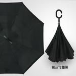 зонт наоборот Черный