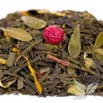 Зеленый ароматизированный чай / Брусничка