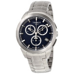 Tissot T0694174404100 Men's Silver-Tone Titanium Blue Dial