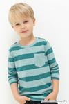 Джемпер детский для мальчиков Dima бирюзовый 104 см