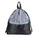 Большой рюкзак MOSHNA! Цвет черно-серый.