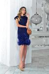 Christmas 2018 1-867 платье темно-синий