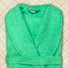 халат женский зеленый