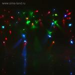 """Гирлянда """"Бахрома"""" Ш:2,4 м, В:0,6 м, Н.С. LED-120/30-220V, эффект мерцания, СИНЕ-БЕЛЫЙ"""