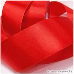 Лента атласная 50мм, цвет красный