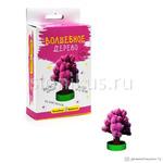 Волшебные кристаллы. Розовое дерево. 12+