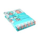 """Байковое одеяло """"Друзья на отдыхе"""" 100х140 см."""