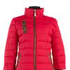 04-0876 Куртка демисезонная (синтепон 80) Плащевка Красный