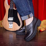 Черные туфли 88110