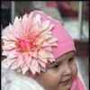 Розовая шапочка с розовым красивущим георгином р-р 38-58 (6! вариантов комплектации на выбор)