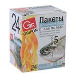 GRIFON Пакеты для запекания рыбы 5шт, 25x55см, шоу-бокс