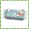 AURA Влажные салфетки для детей Ultra comfort 60 шт