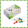 ClipStudio Кнопки-гвоздики цветные, 50шт в картонной коробке (1+1)