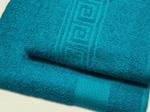 Полотенце махровое (цвет 608 - бирюза)...