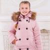"""Зимние пальто для девочки """"Элис"""" (рост 128 см)"""