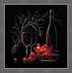 """1239 """"Натюрморт с красным вином"""""""