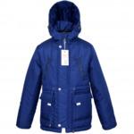 Куртка демисезонная, модель ДП11, цвет синий