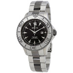 Invicta 17973 Men's Sea Base Limited Edition SS and Gunmetal IP SS Black Dial
