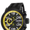 Red Line RL-50068-BB-01-YDR Night Rally Chronograph Black Silicone and Dial Black IP Steel