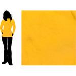 Флис гладкокрашеный Желтый Китай