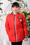 Куртка демисезонная для девочки «Злата»