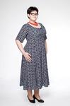 Большие размеры. Платье М2768