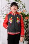Куртка демисезонная для девочки «Доминика-3»