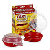 Формочки для омлета в микроволновке Easy Eggwich