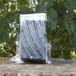 Мыло кусковое-скраб с черной глиной Мертвого моря 73гр