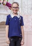 Школьная блузка для девочки (рост 158 см)