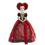 """Alice Through the Looking Glass 11.5"""" Deluxe Red Queen Collector Doll"""