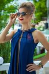 Платье синее - 7590