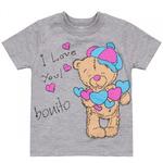"Футболка Bonito ""Тедди"" для девочк"