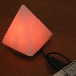 Солевая лампа MINI USB Пирамида