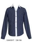 Школьная блузка арт. 124ав,размеры 134-164