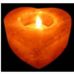 Подсвечник солевой «Сердце»