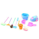 Chunlin Mini Cleaning Set Doll House Decoration Home Furniture Furnishing Cleaning Cleaner Kit For Barbie Doll House