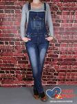 Комбинезон женский джинсовый Miss Bon MB-425