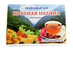 Чай фруктовый пресованный Красная поляна 12 брикетов
