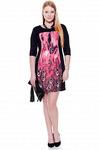 Платье вискоза рукав 3/4  Модель товара: ПлВ-916