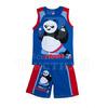 Комплект детский майка + шорты Кунг фу Панда цвет синий