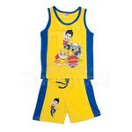 Комплект детский майка + шорты Щенячий патруль цвет желтый