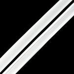 Косая бейка атлас 15мм цв.F101 (6341) бел