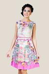 Платье 15221-1V розовый