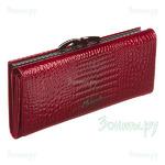 *Красный кошелек Malgrado 72031-3-44 Red из натуральной кожи