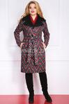 Пальто Модель 794 красная полоска Милана